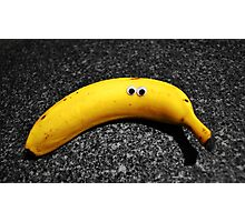 Googly-Eyed Banana Photographic Print