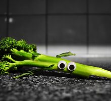Googly-Eyed Broccoli by JustAnEffigy