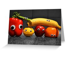 Googly-Eyed Family Greeting Card
