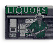 Liquors Canvas Print