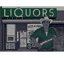 Liquors Photographic Print