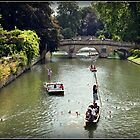Cambridge Punting by Kate Towers IPA
