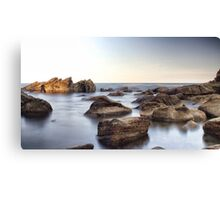 Mystic Rock Pools 1 Canvas Print