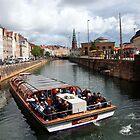 Canal at Nybrogade by John Dalkin