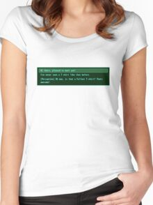 The Conversation Starter Women's Fitted Scoop T-Shirt