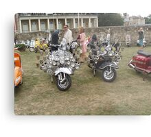 Isle of Wight scooter rally 2013 Metal Print