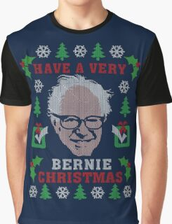 Very Bernie Ugly Christmas Sweater Digital Art Graphic T-Shirt