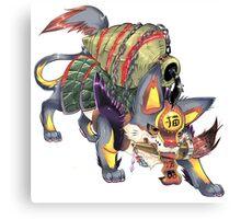 kanji monster Canvas Print