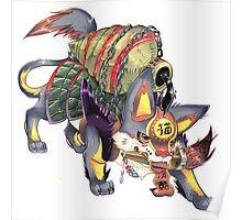 kanji monster Poster