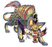 kanji monster Photographic Print