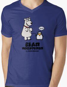 The Bear Whisperer - Penguin vs Polar Bear Mens V-Neck T-Shirt