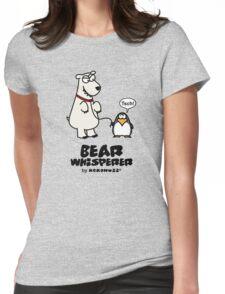 The Bear Whisperer - Penguin vs Polar Bear Womens Fitted T-Shirt
