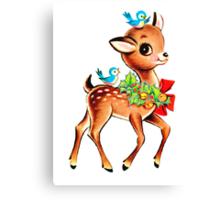Christmas! Oh deer! Canvas Print