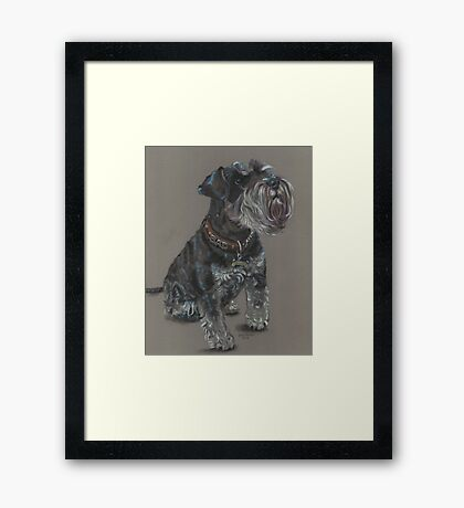 She's Bad! Framed Print