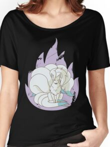 Ninetales - Fire Pokemon (Shiny Version) Women's Relaxed Fit T-Shirt