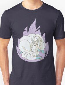 Ninetales - Fire Pokemon (Shiny Version) Unisex T-Shirt