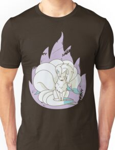 Ninetales - Fire Pokemon (Shiny Version) Unisex T-Shirt