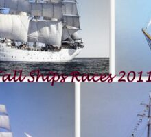 Tall Ships Races  Sticker