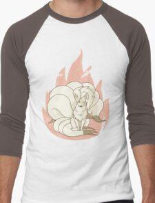 Ninetales - Fire Pokemon Men's Baseball ¾ T-Shirt