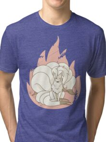 Ninetales - Fire Pokemon Tri-blend T-Shirt