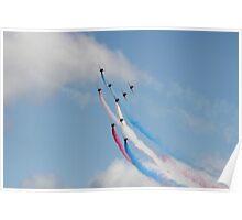 Red Arrows Concorde Formation Poster