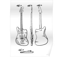 Guitar Patent Poster