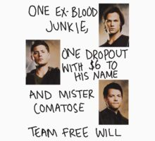 team free will. by emmtheninja
