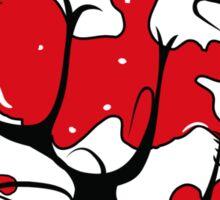 BLOODY FIST T SHIRT Sticker