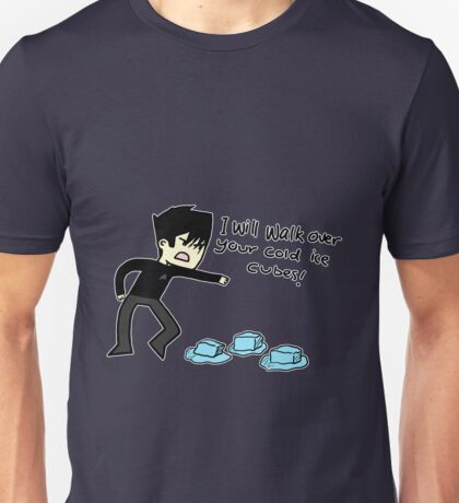 Star Trek's Khan - 'I will walk over your cold ice cubes' Unisex T-Shirt