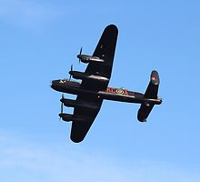The Lancaster Bomber by Theresa Selley