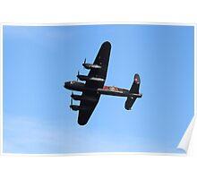 The Lancaster Bomber Poster