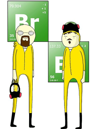 Breaking Bad Adventure time Version by stylishtech