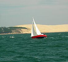 Arcachon Great Dune of Pilat by Vlavo