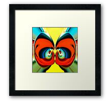 summer butterfly Framed Print
