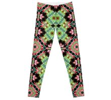 Green Printed  designer fashion Leggings Leggings