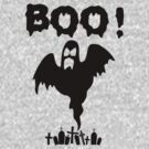 BOO T SHIRT by GeekShirtsHQ