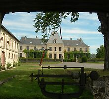 Chateau near Bordeaux by Vlavo