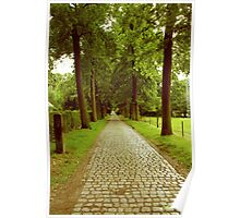 A lane to the Castle Hof ter Linden Poster