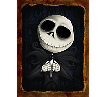 the pumpkin king Photographic Print