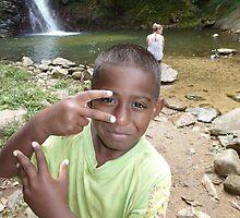 Little Fijian Friend by camycalla