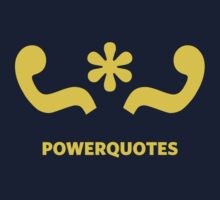 Power Quotes Kids Tee