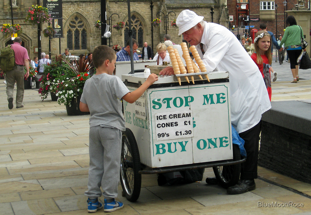 The Ice Cream Vendor by BlueMoonRose