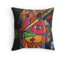 The Javelin Thrower Throw Pillow