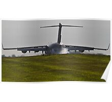 C-17 Globemaster Touchdown Poster