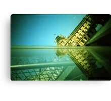 Palace and Pyramid - Lomo Canvas Print