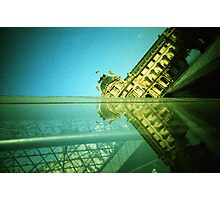 Palace and Pyramid - Lomo Photographic Print