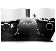 C-17 Globemaster Head On Poster