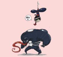 Spiderman gets Venom One Piece - Long Sleeve