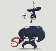 Spiderman gets Venom by badchoice
