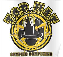TOP HAT  Cryptic Computing Poster